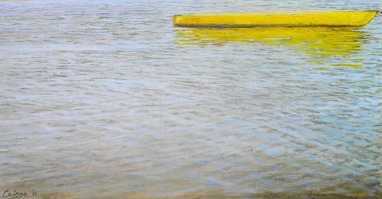 Rising Tide - Oil on canvas paper - Mark Cairns Artist