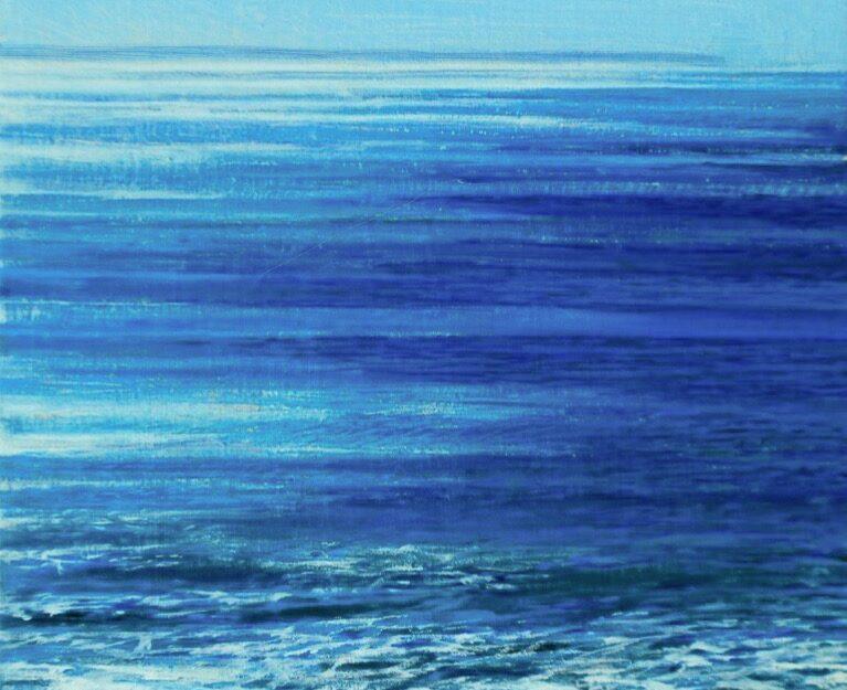Bass Strait blue | Mark Cairns Artist