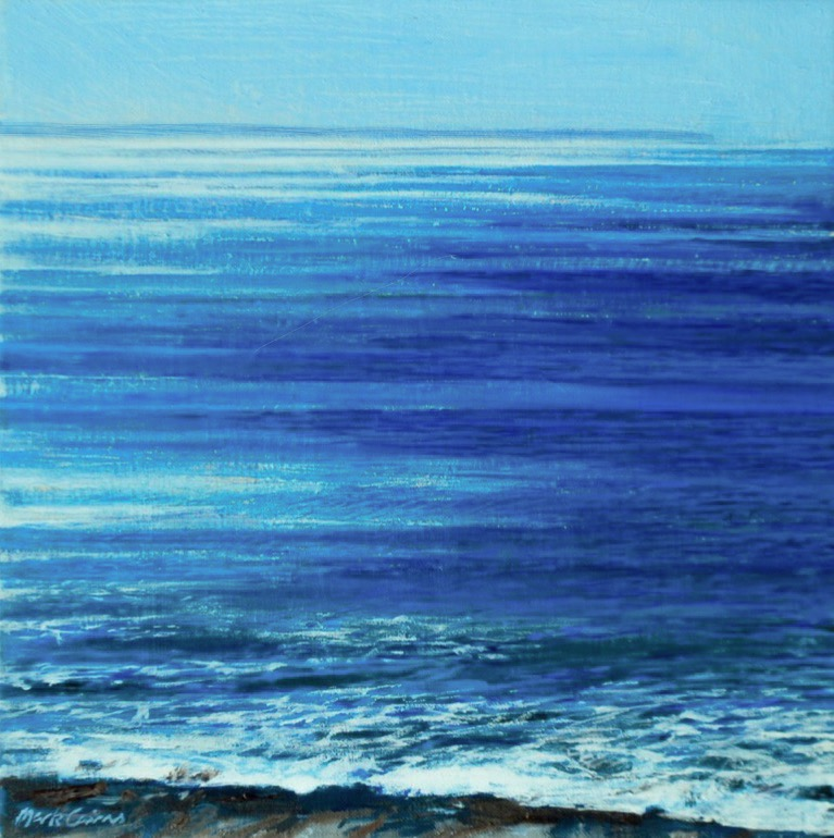 Bass Strait blue | Mark Cairns Artist